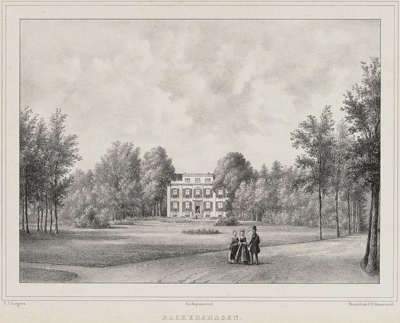 Uit de collectie: Backershagen 2e helft 19e eeuw
